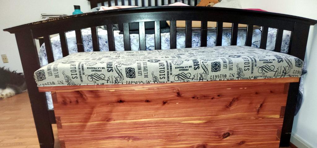 Cedar Blanket Chest